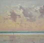 Quiet Sea and Clouds, Camber