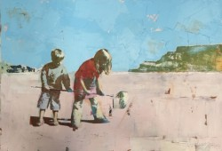Children on the Beach £1,850