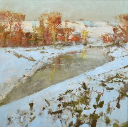 Study for Kent Downs, Winter