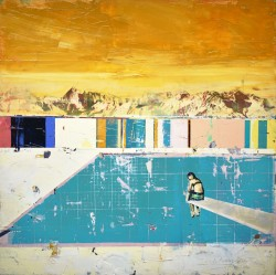 Sitting on the Diving Board- Yellow Sky